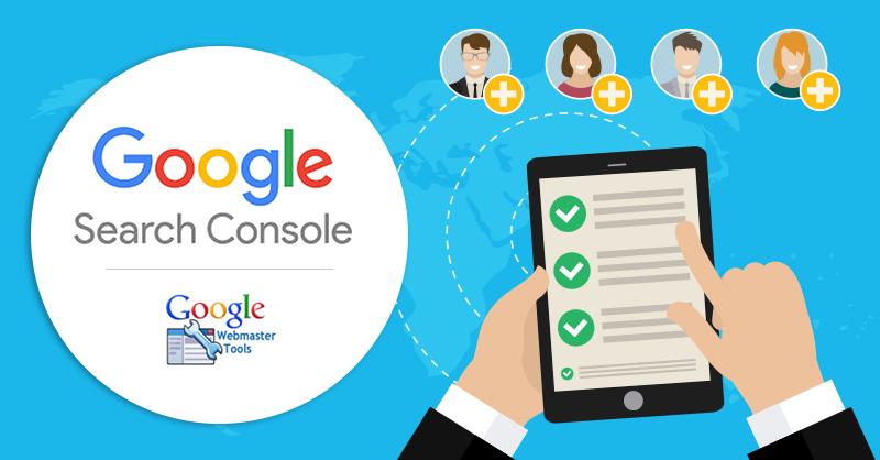 google search console untuk mengumpulkan data pelawat